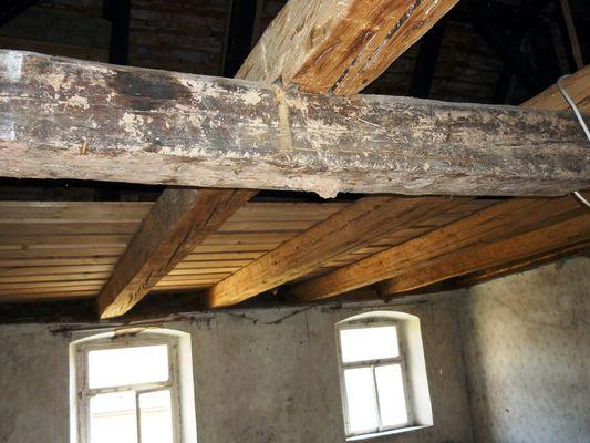 Dachstuhl - Wohnhaus