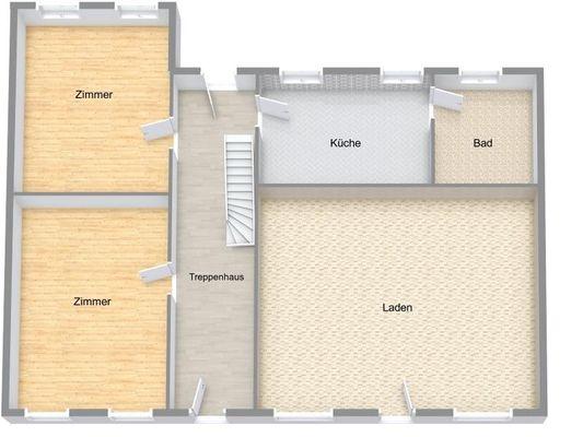 Stadthaus / Sanierungshaus EG