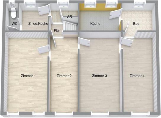 Stadthaus / Sanierungshaus OG
