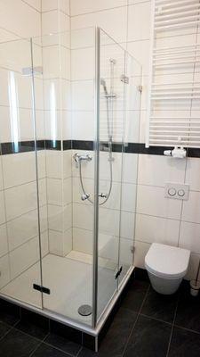 sep. Bad mit Dusche+WC