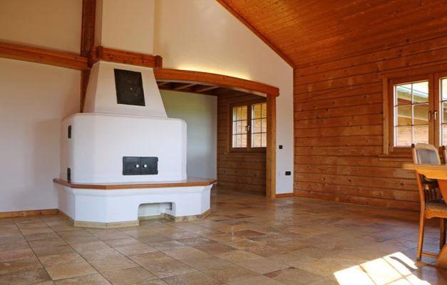 Wohn-Essbereich Kamin