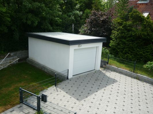 Garage Neubau