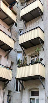 Rückansicht Balkone