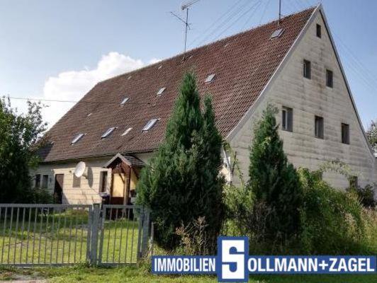 Blick auf das Bauernhaus