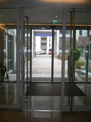 Exclusiver Eingang