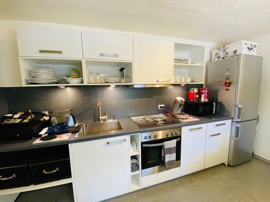 Personalraum-Küche