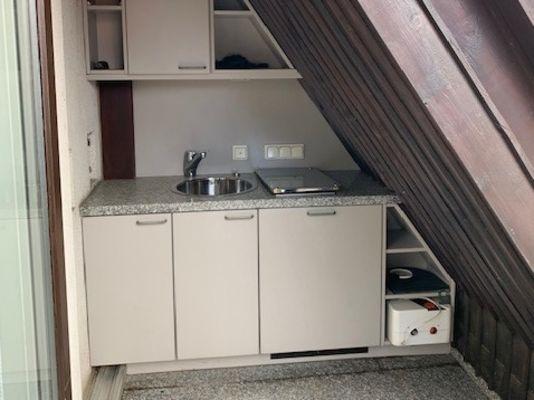 kleine Küche Balkon