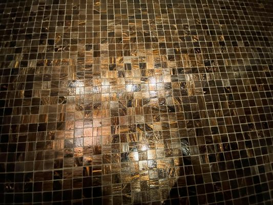 Kupfer - Mosaik - Fliesen