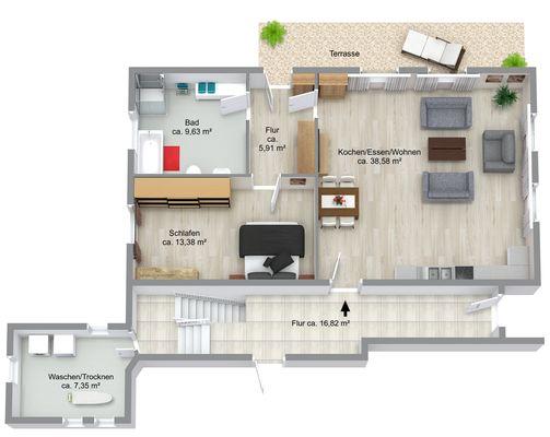 Wohnung Nr. 2 Erdgeschoss